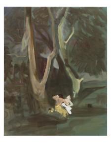 mal wieder böcklin! wald mit nymphe und kentaur lll, 2013